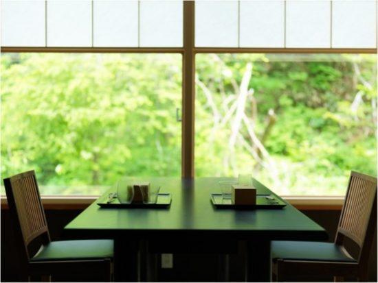 「ニセコ昆布温泉鶴雅別荘?杢の抄」ニセコの静かな森の中