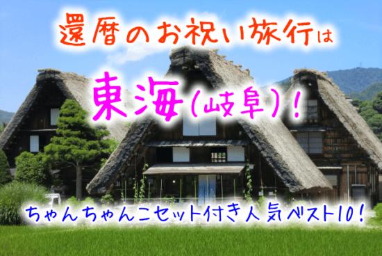 還暦のお祝い旅行は 東海(岐阜)!