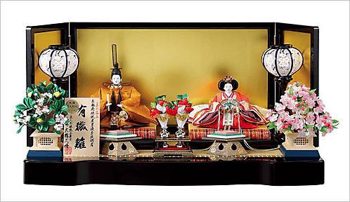 弌峰作 衣裳着親王飾りセット(カタログNo.5)