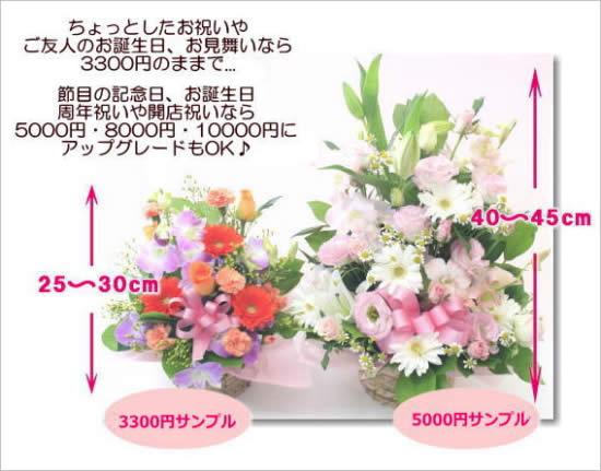 【送別品20代女性】咲き誇る季節の花ギフト生花アレンジメントでお祝い
