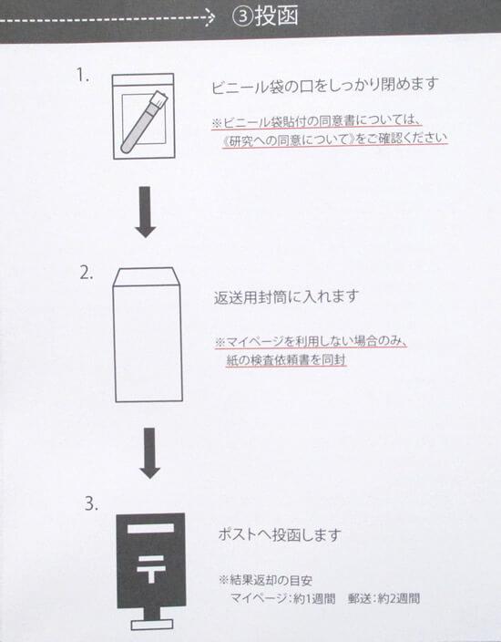 大豆食品を摂って無事に尿検査キットが完成した後は?